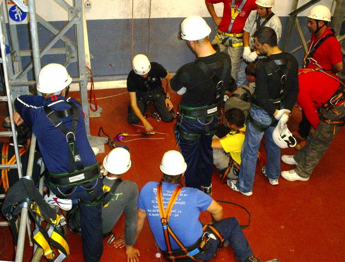 Formación para seguridad en trabajos en altura